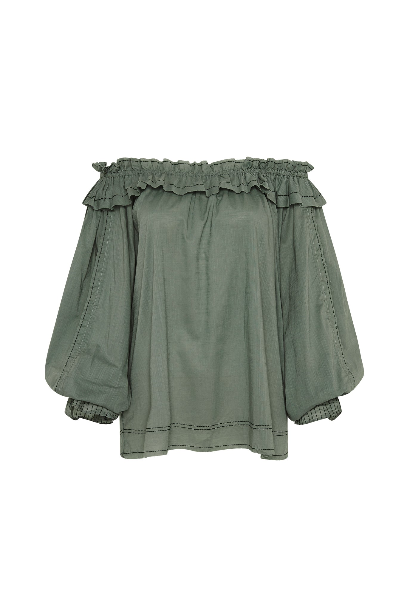Mimosa Ruffle Blouse Product View