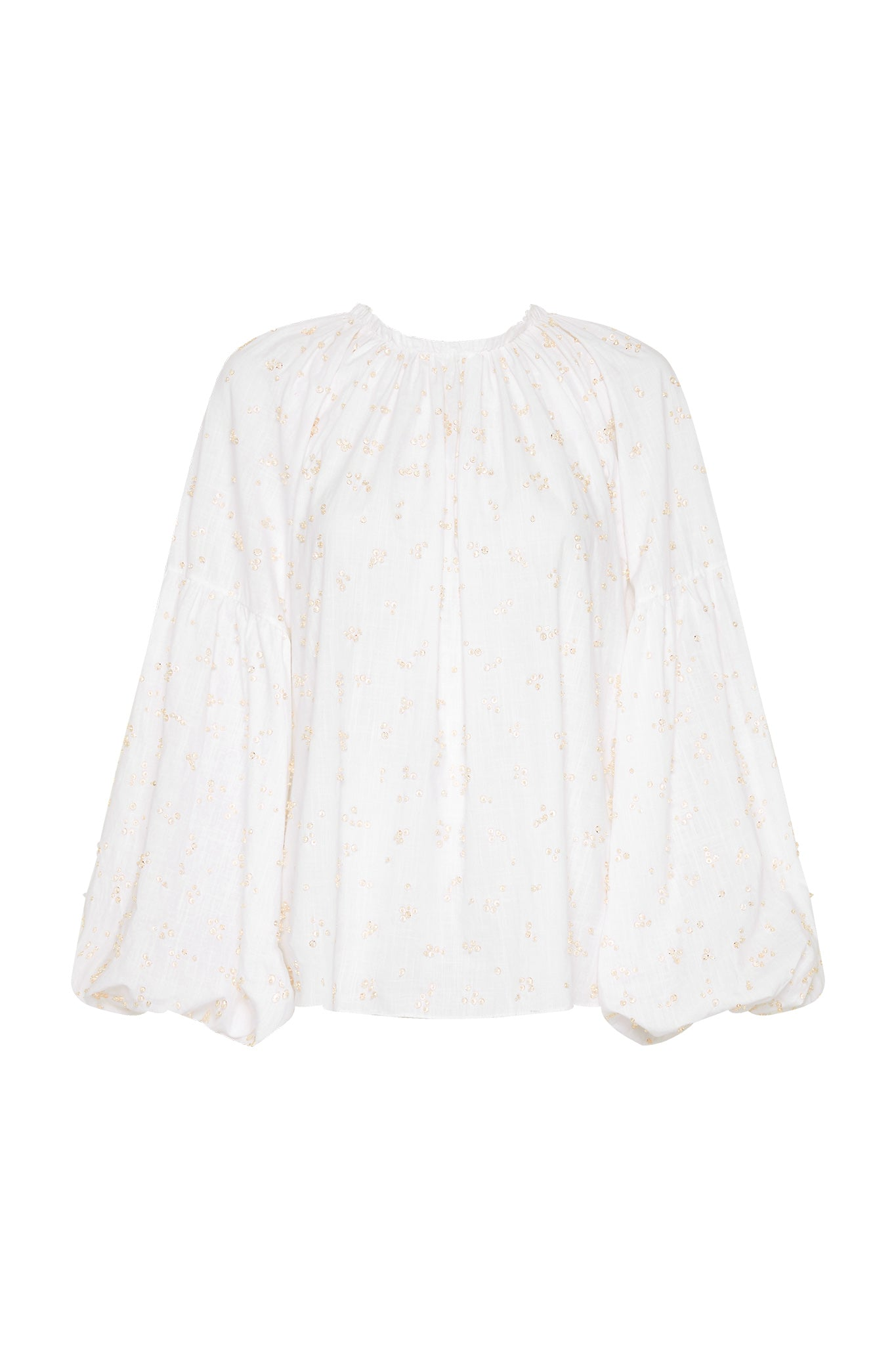 Eucalypt Embellished Blouse Product View
