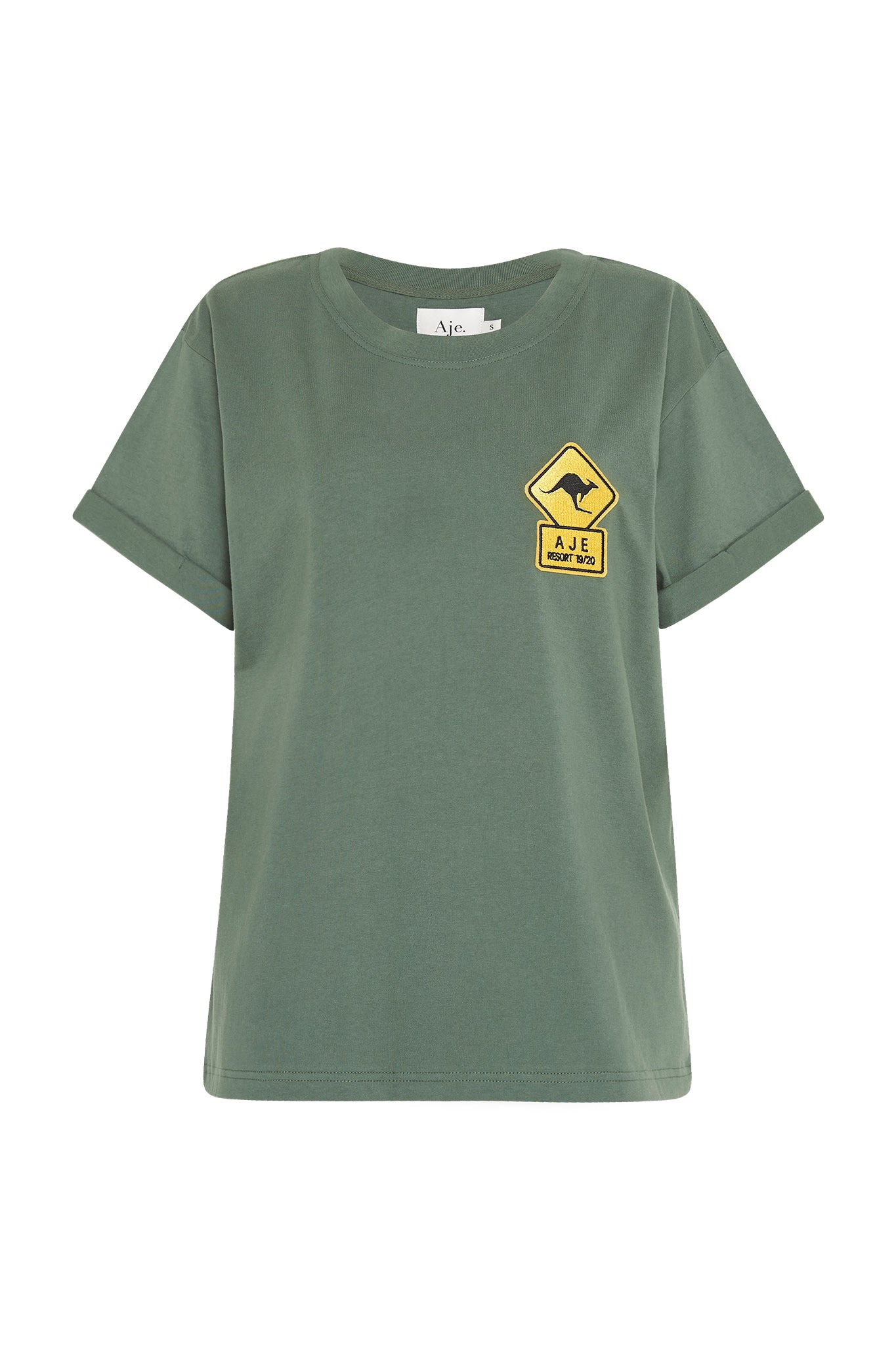 Mimosa Patch Tee Product View