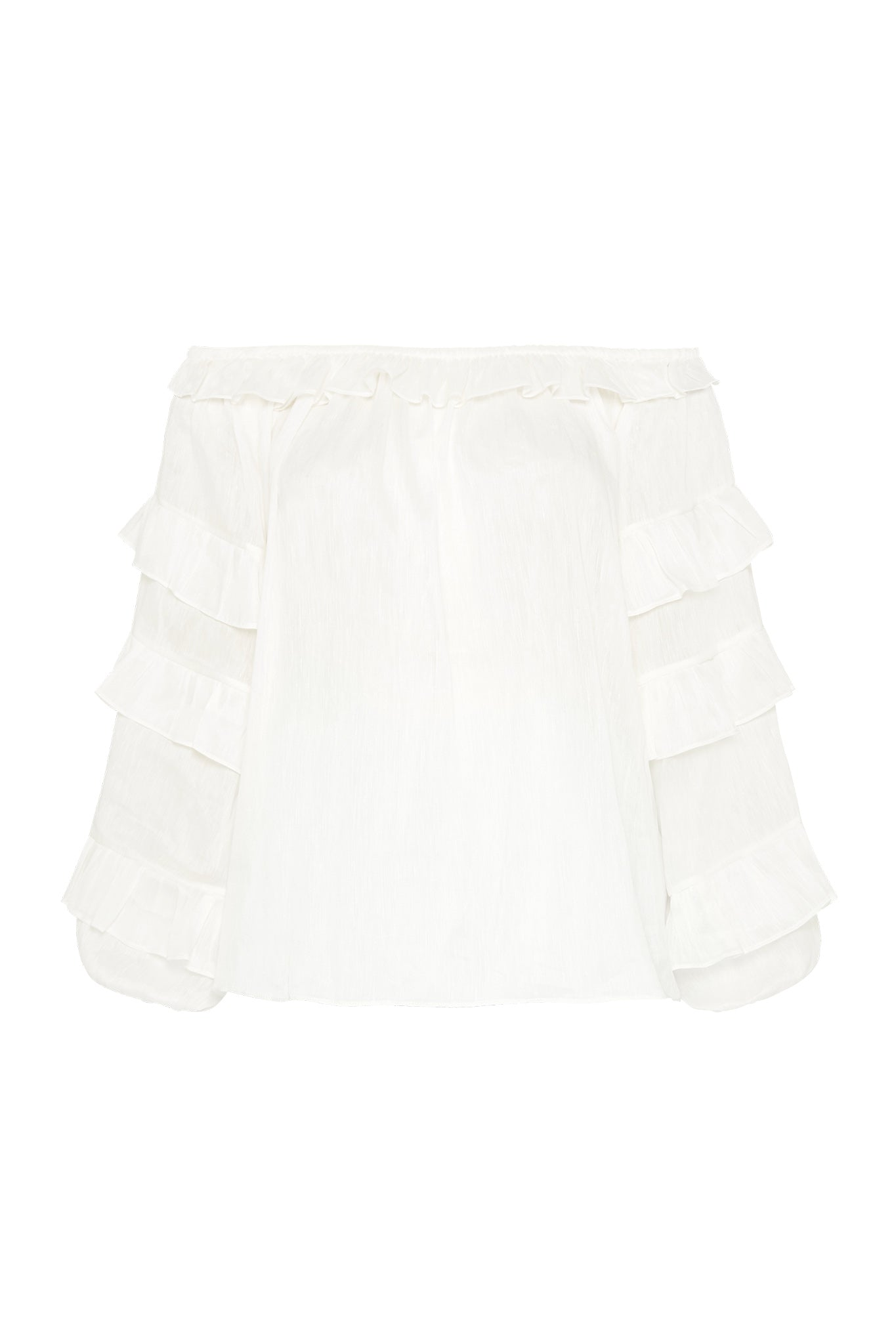 Salt Lake Frill Blouse Product View