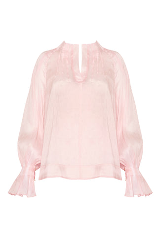 Salt Lake Tucked Blouse