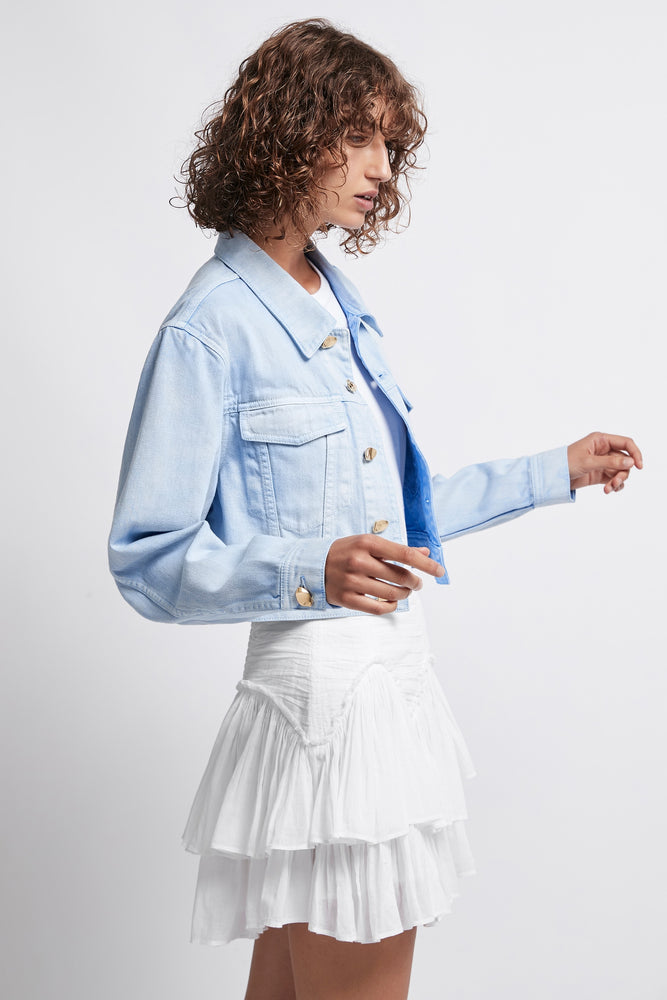 Overture Denim Crop Jacket