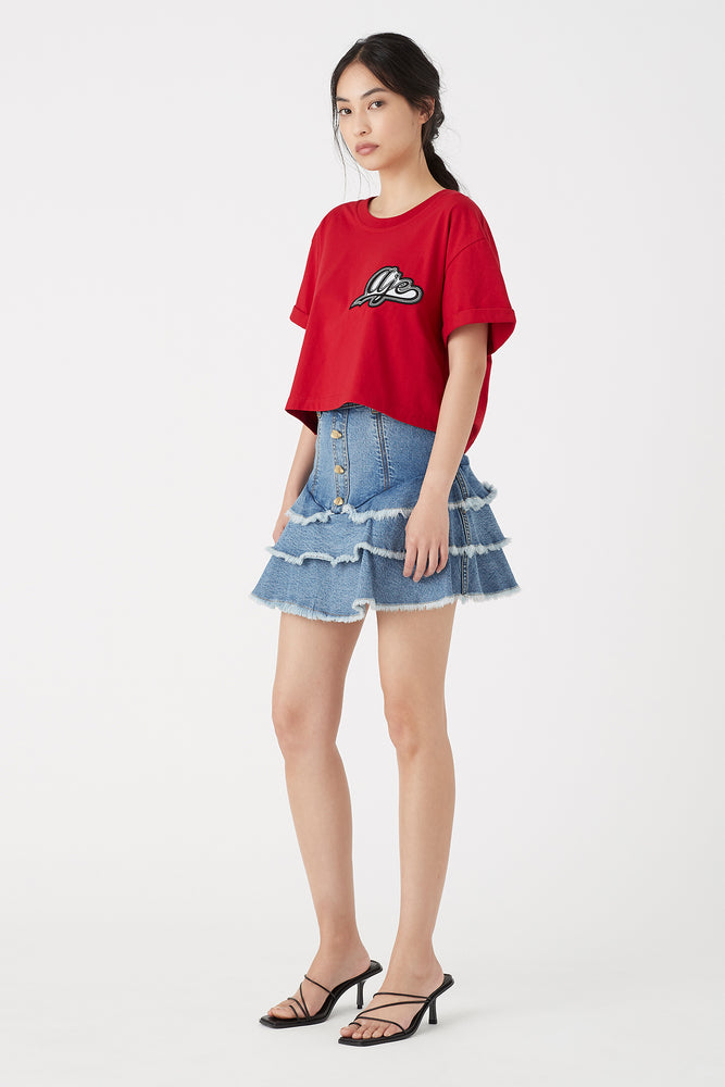 Claudia Denim Skirt