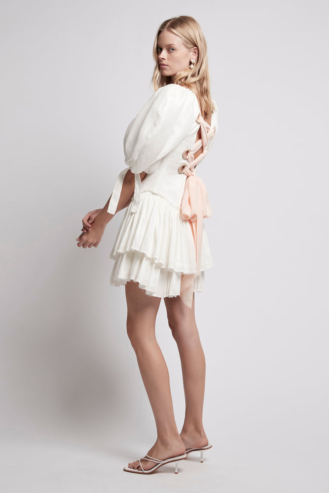 Overture Laced Ballet Mini Dress
