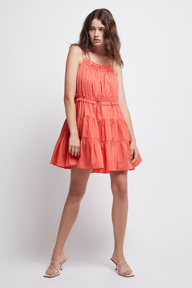 Armeria Tiered Mini Dress