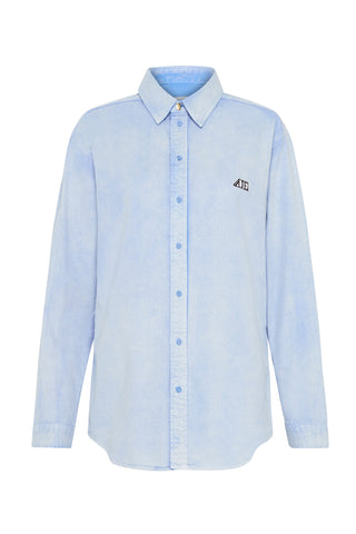 Overture Denim Button-Down Shirt