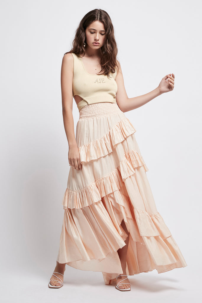 Armeria Waterfall Skirt