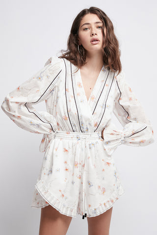 Armeria Wrap Playsuit