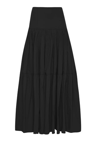 Allegro Tiered Midi Skirt