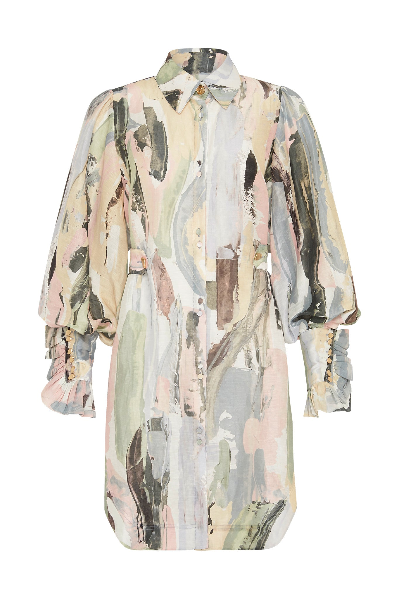 Paperbark Shirt Dress Product View