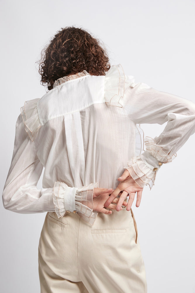 Overture Frill Blouse
