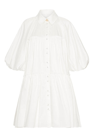Prima Circle Tiered Mini Dress