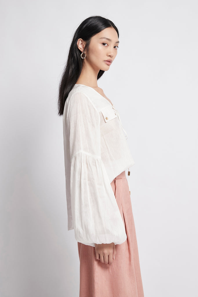 Coda Lacing Blouse