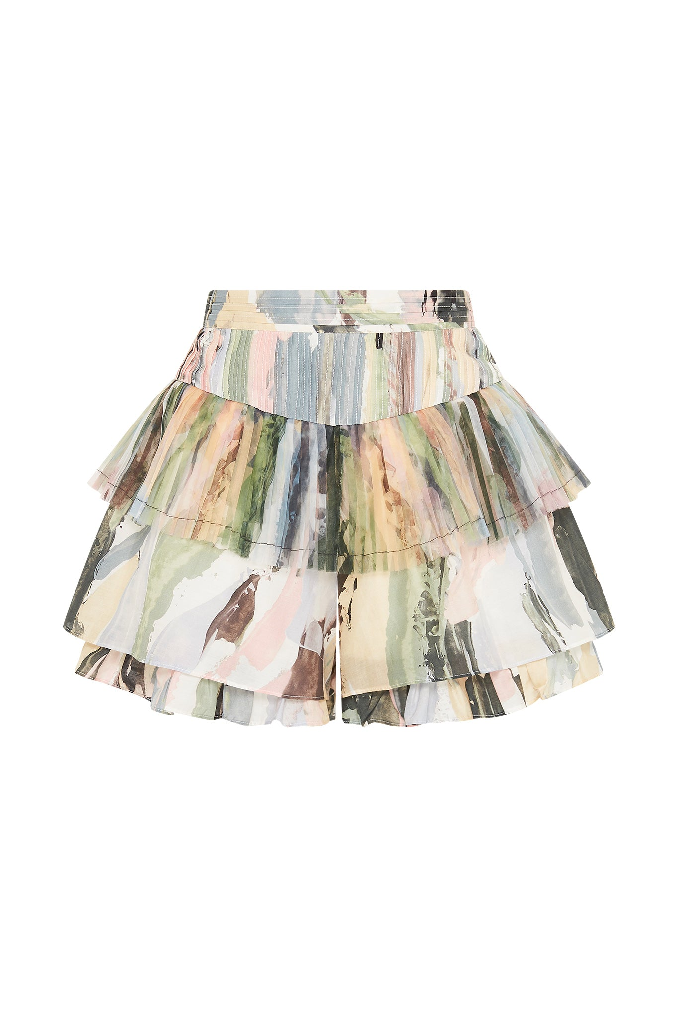 Paperbark Pleat Short Product View