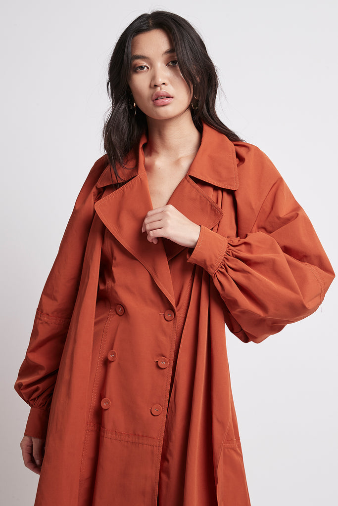 Interlace Trench Dress