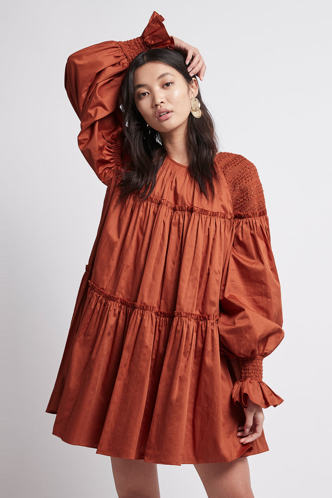 Tranquility Smock Dress