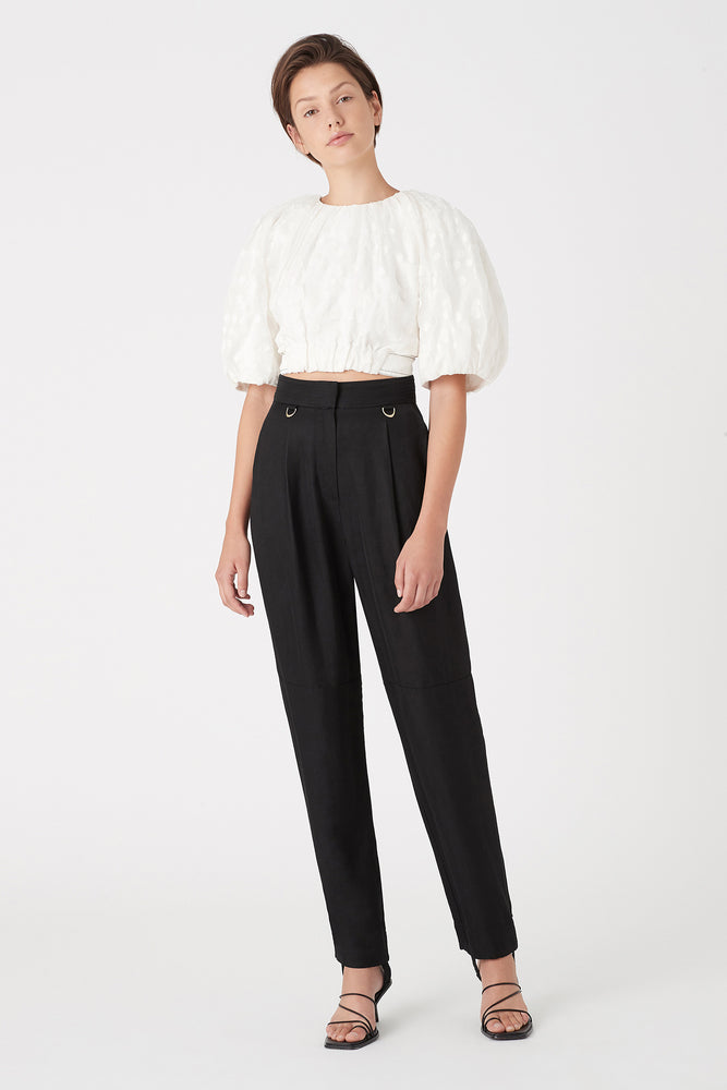 Banksia Burnout Crop Blouse