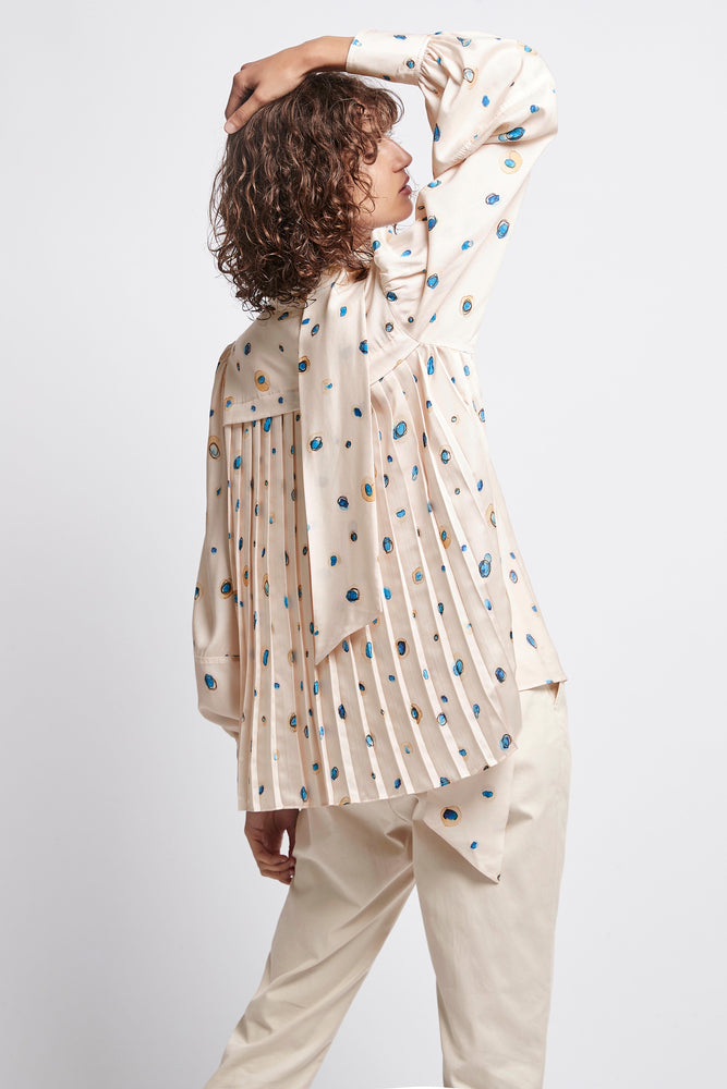Overture Pleat Blouse