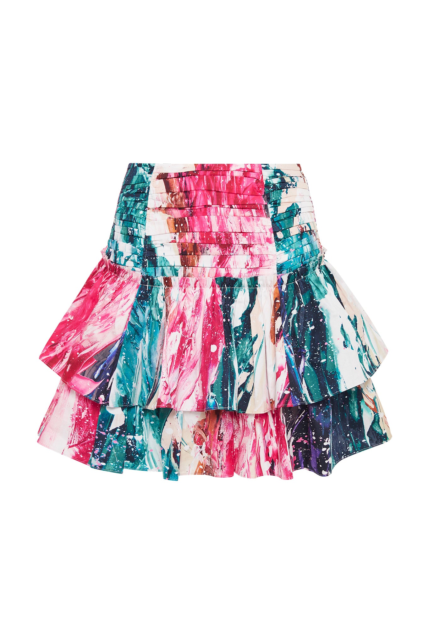 Salt Lake Bubble Frill Skirt Product View