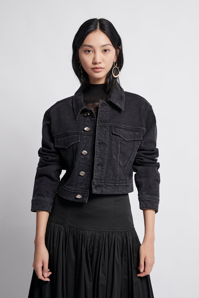 Coda Denim Crop Jacket