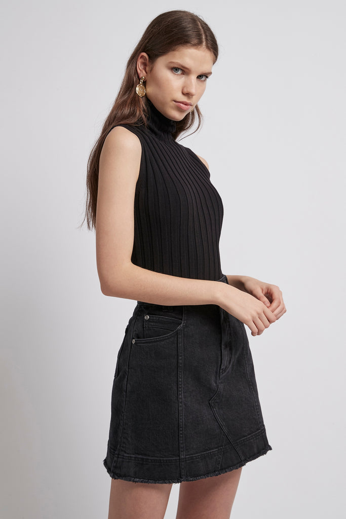 Coda Denim Mini Skirt