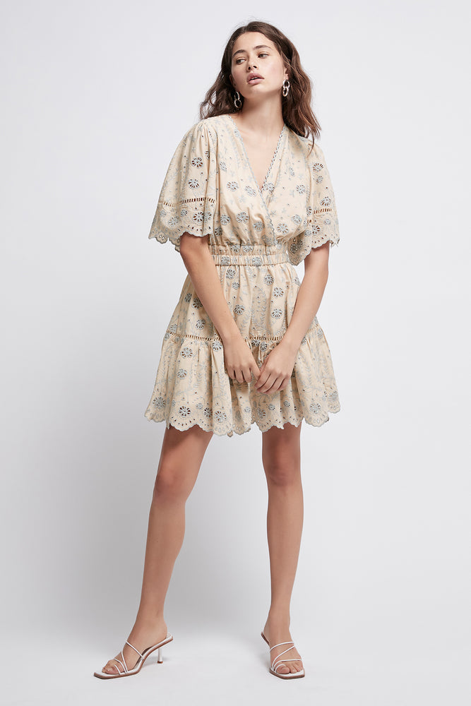 Silvatica Broderie Mini Dress