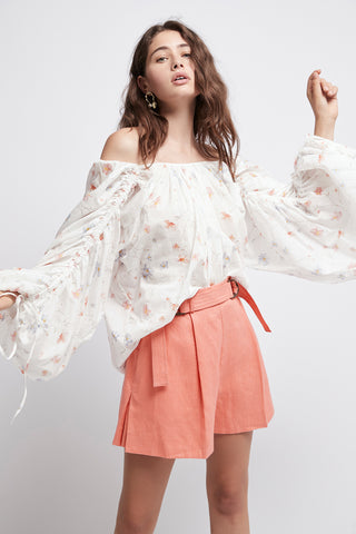Armeria Gathered Blouse