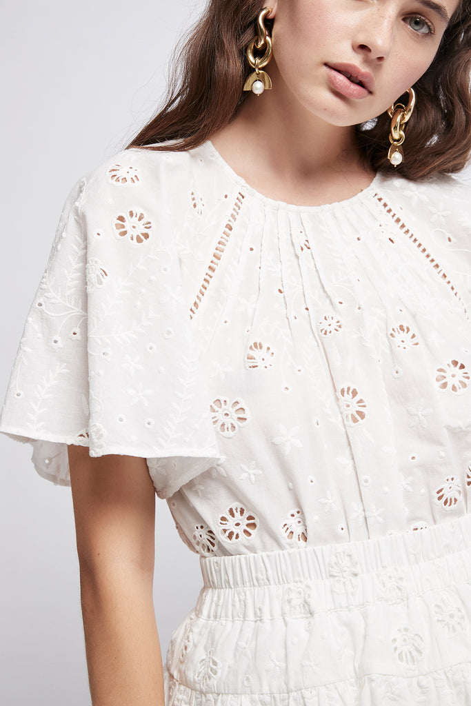 Silvatica Broderie Tee