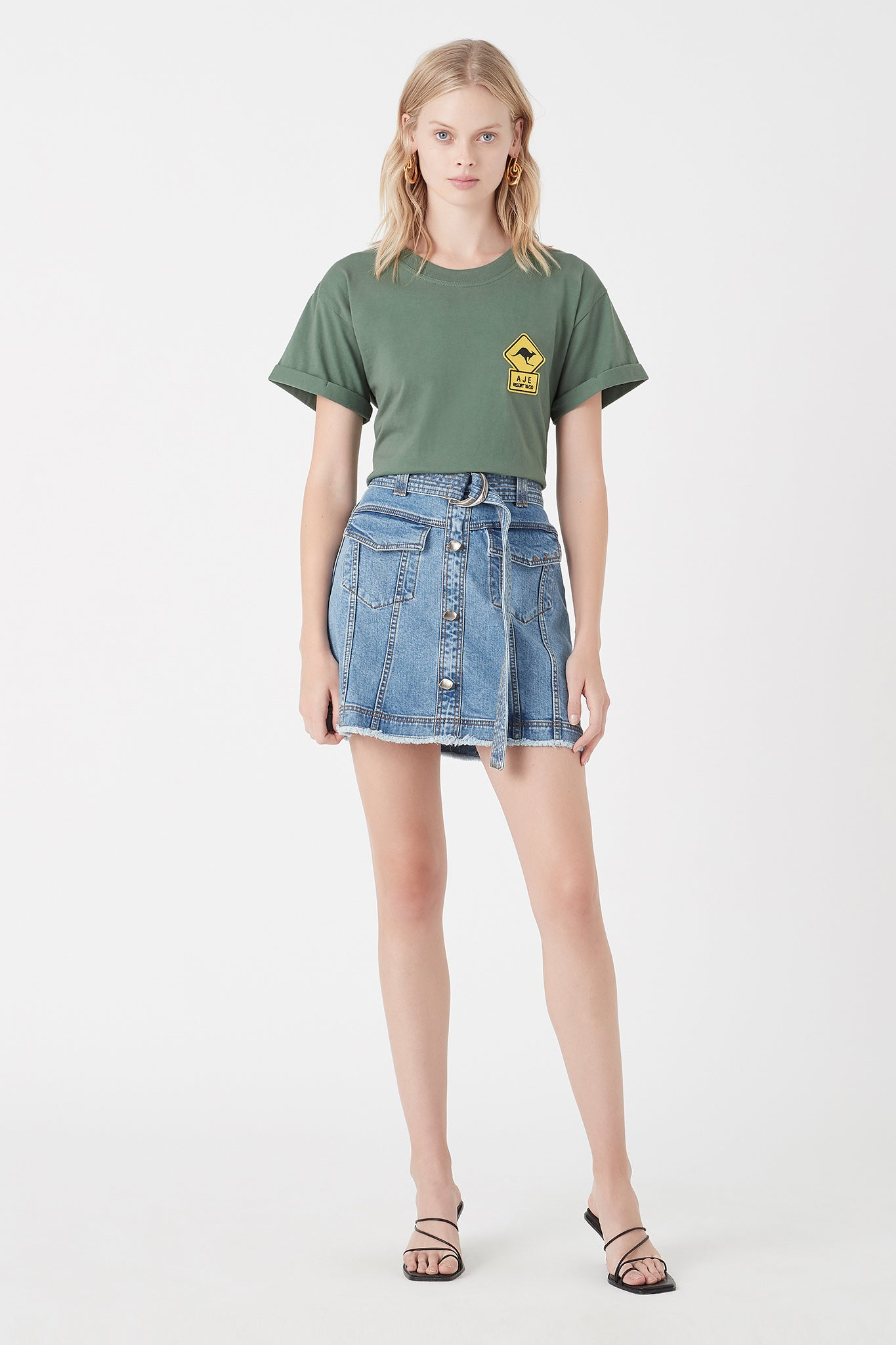 Mimosa Patch Tee Outfit View