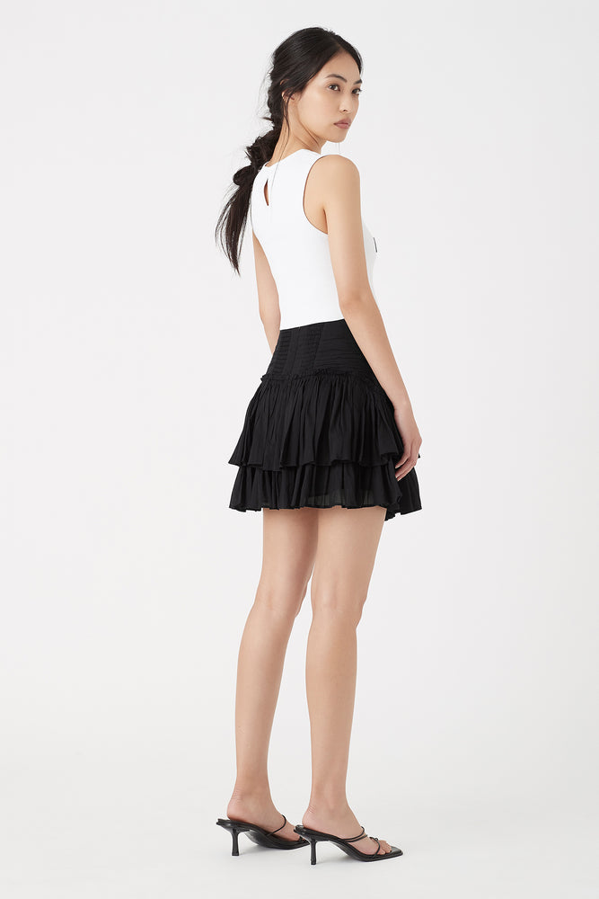 Banksia Frill Mini Skirt