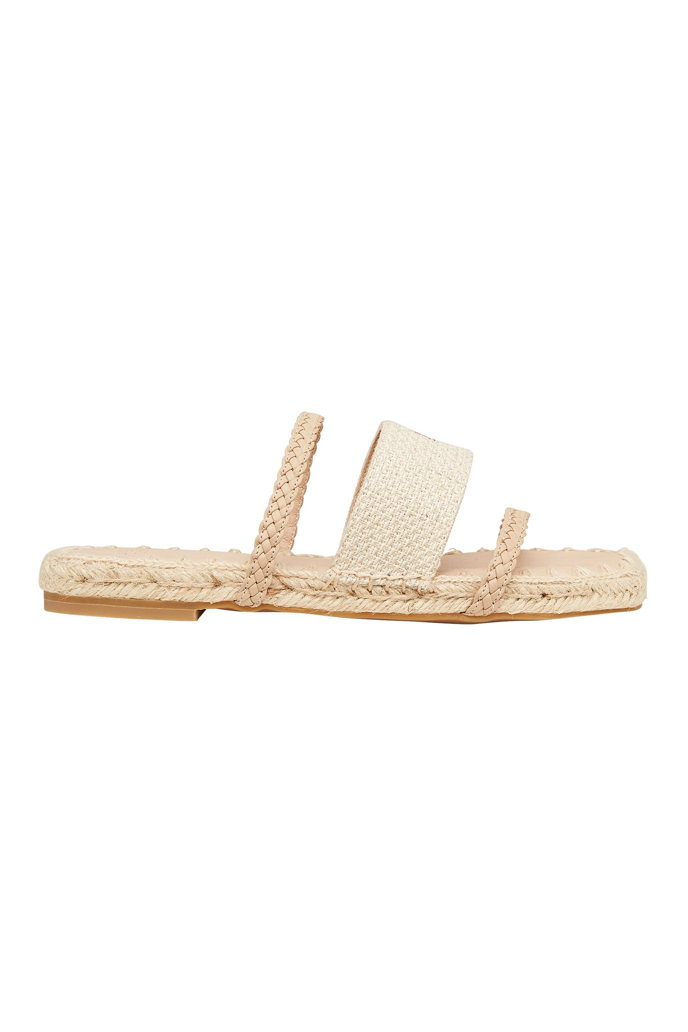Acacia Slide Espadrille Product View