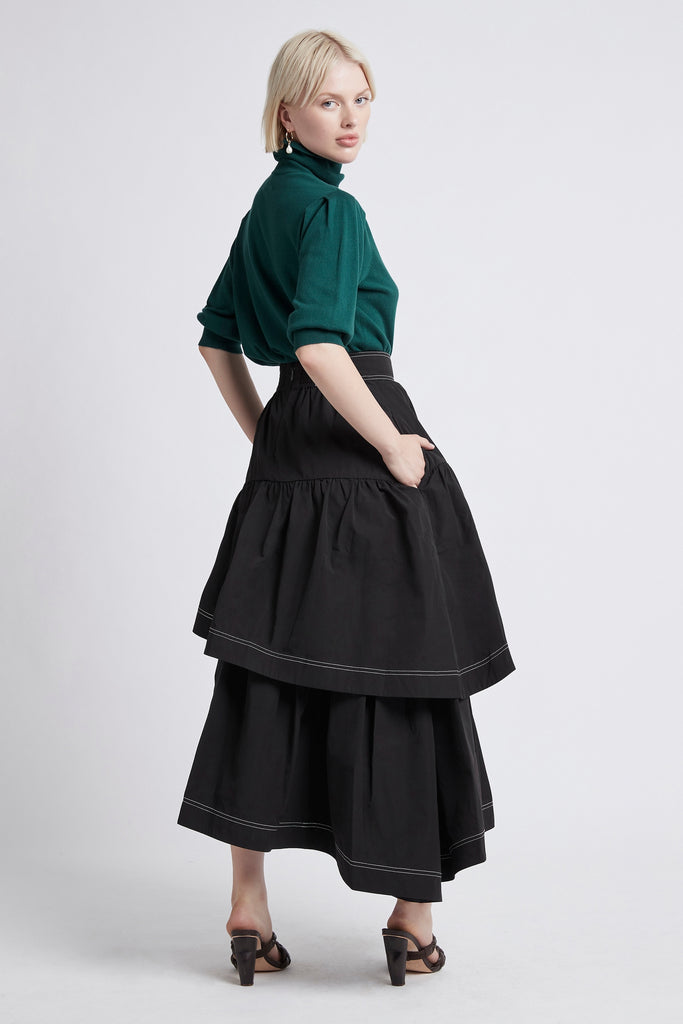 Interlace Midi Skirt