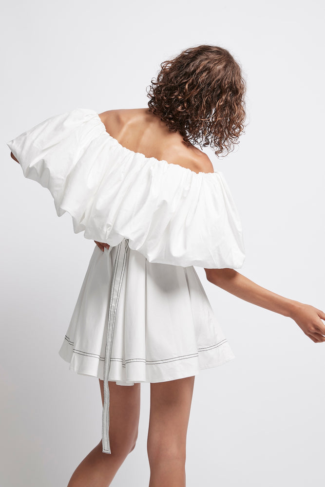 Prima Puff Mini Dress