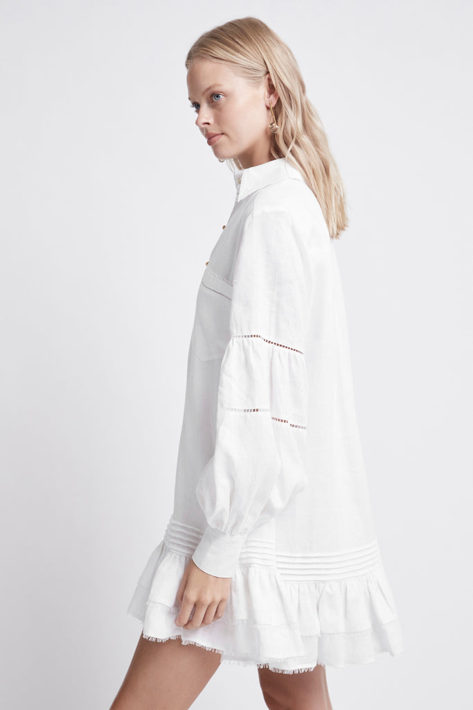 Lotus Shirt Dress
