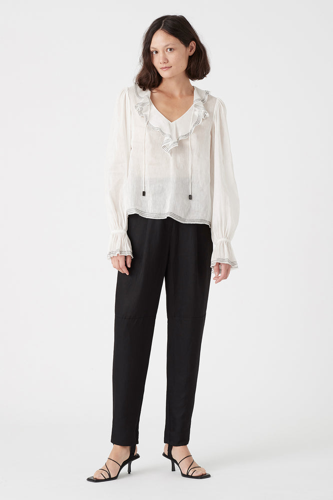 Banksia Frill Blouse