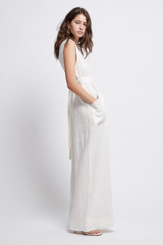 Salt Lake Belted Jumpsuit