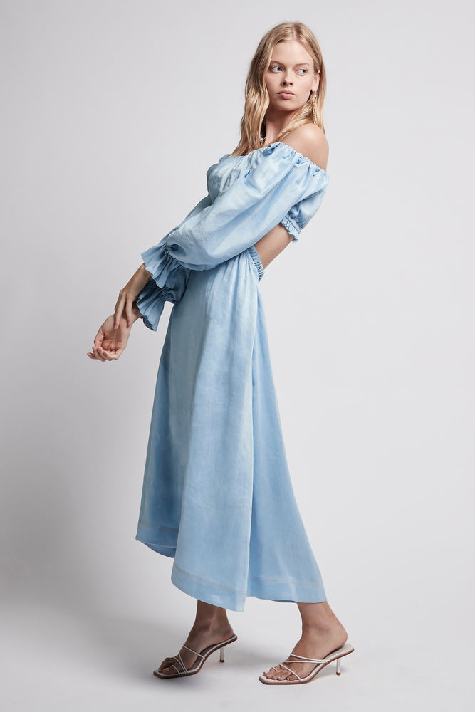 Overture Blouson Midi Dress