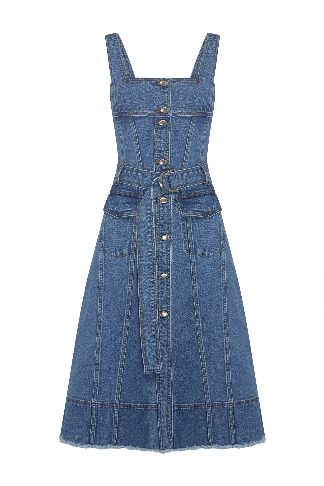 Shore Denim Dress Product View