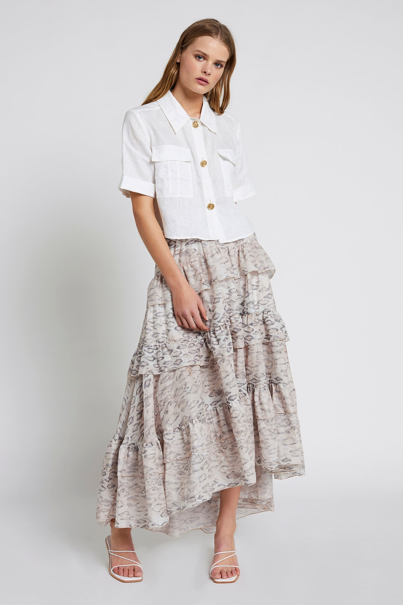 Sorocco Maxi Skirt Outfit View