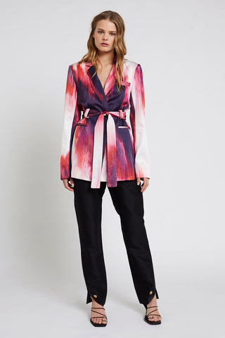 Waves Belted Blazer