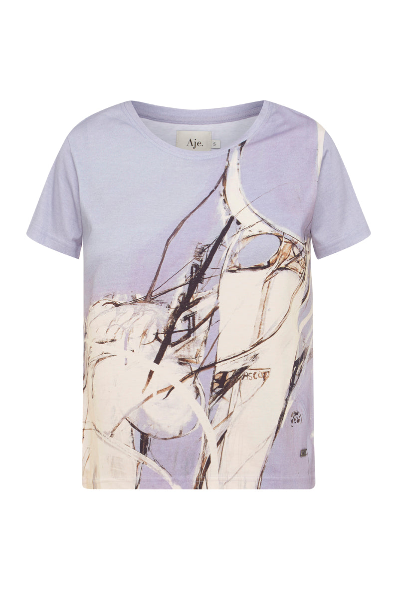 Whiteley Print Tee Product View
