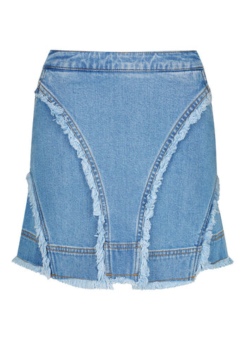 Ava Denim Mini Skirt