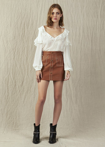 Shrimpton Mini Contrast Stitch