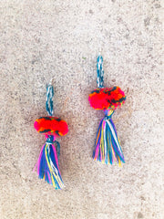 Pom Pom Earrings-002