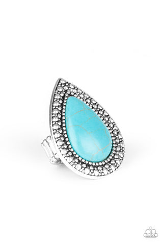 Santa Fe Storm Turquoise Ring