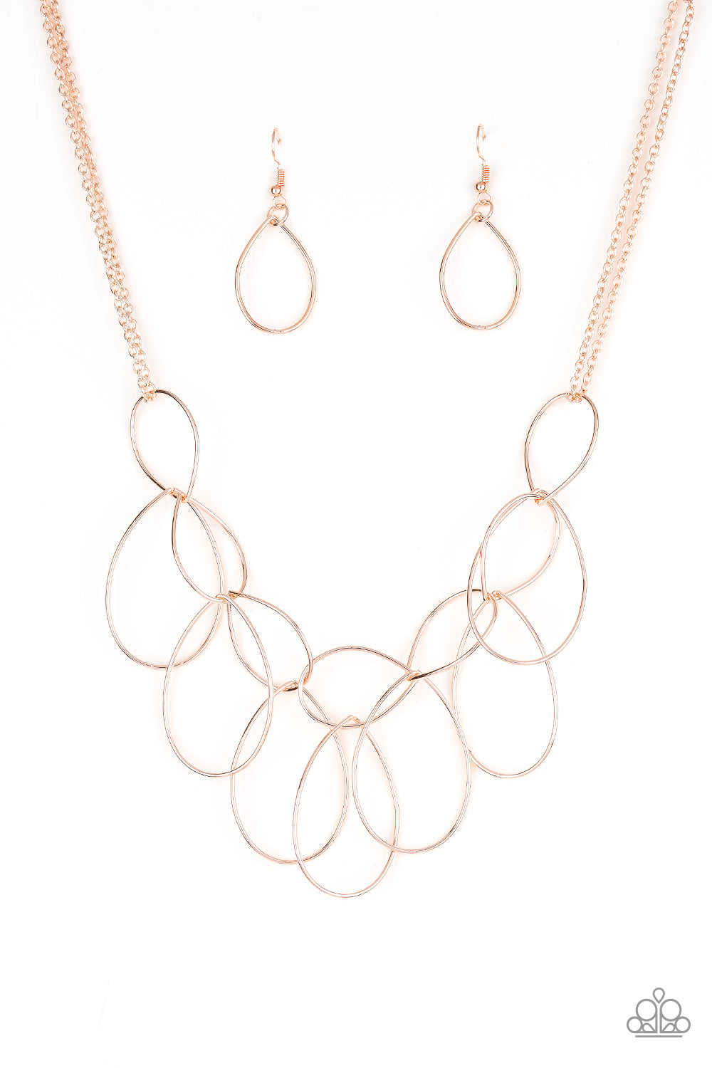 Top-TEAR Fashion - Rose Gold Necklace