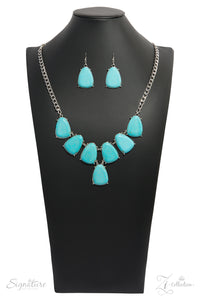 The Geraldine - Zi Collection Turquoise Necklace