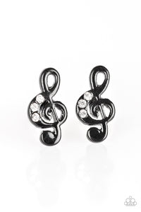 Starlet Shimmer Musical Note Earrings