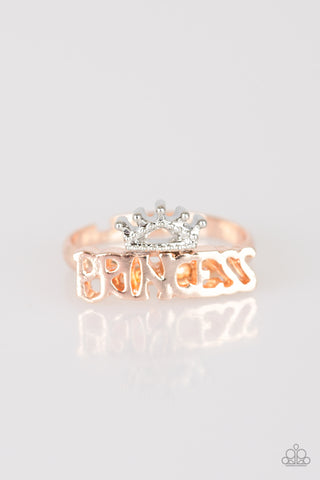 Starlet Shimmer - Princess Crown Gold and/or Silver Kid's Ring - Social Bling Queen