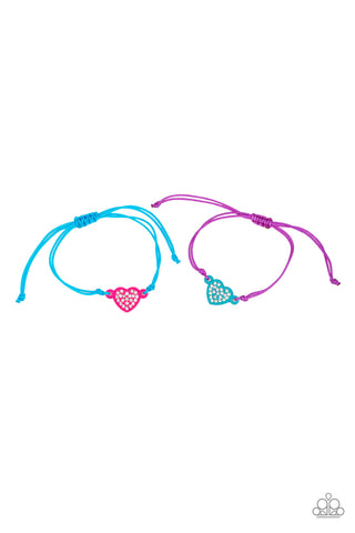 Heart Pull Tight Bracelet - Social Bling Queen